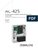 AC-425 Hardware Installation and User Manual 260617