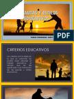 Pautas y Estilos Educativos