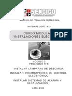 Módulo 2 Fascículo 8 INSTALACIONES ELÉCTRICAS