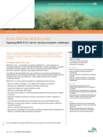 Ecological Modelling - DHI Solution_V1.3