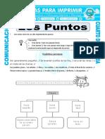 Ficha Clases de Puntos Para Cuarto de Primaria