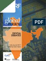 Digital Debates, CyFy Journal 2017 - Samir Saran