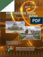 Kabupaten Kuantan Singingi Dalam Angka 2012