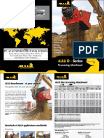 ALLU D-series Brochure New