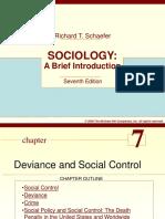 Ch 7- Deviance & Social Control