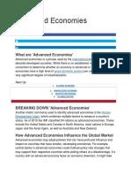 Advanced Economies