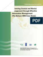 Enhancing Coastal and Marine Management through Effective Information Management (The Bataan IIMS Case Study)