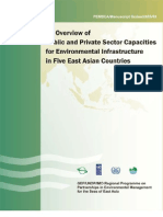 An Overview of Public and Private Sector Capacities for Environmental Infrastructure in Five East Asian Countries (PEMSEA/Manuscript Series/2005/02)