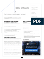 Dzone Refcard265 Streamprocessing