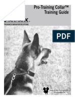 Pro Training Collar Guide 2011