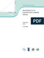 Proceedings of the Third Executive Committee Meeting