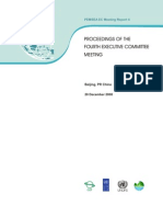 Proceedings of the Fourth Executive Committee Meeting