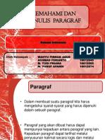 B Indonesia Paragraf