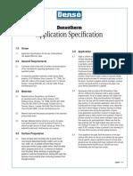 Denso Densotherm Application Spec