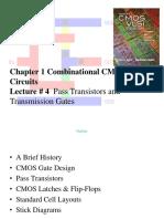 CMOS Ch1.4 Pass Transistors