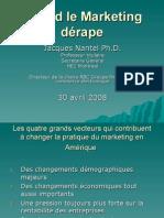 Quand Le Marketing déRape Jacques Nantel Ph.D. Professeur Titulaire