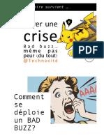 gérer une crise WEB 2018