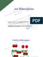Catálisis Heterogénea 1