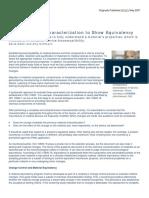 MDDI Using Chemical Characterization May 2007