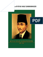 Biography of Kyai Haji Samanhudi