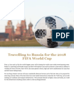 2018 FIFA World Cup in Russia PAX and Operator Advice