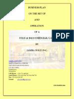 Jamba Juice Inc - Business Plan-2