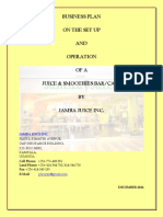 Jamba Juice Inc - Business Plan-2