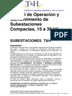 Manual de Operación y Mantto Sub TH 2015 INT AREVA 2