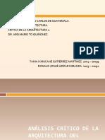 ANÁLISIS CRÍTICO DE LA ARQUITECTURA DEL MEDIOEVO