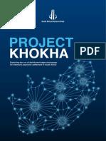 SARB Project Khokha
