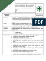 SOP PEMBERIAN INFORMASI EFEK SAMPING DAN RESIKO PENGOBATAN.docx