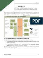 Chapitre 2 Introduction Sur Les Microcontroleurs