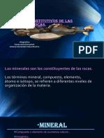 Minerales Constitutivos de Las Rocas