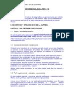 Estructura Del Informe Final de Psp