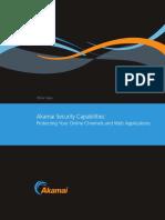 Akamai Security Capabilities Whitepaper
