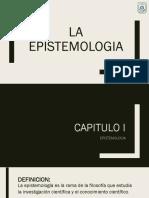 La Epistemologia