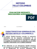 Metodologia Batelle-Columbus 2018