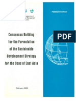 Consensus Building for the Formulation of the Sustainable Development Strategy for the Seas of East Asia