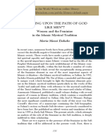 Women and the Feminine in the Islamic Mystical Tradition by Maria Masse Dakake