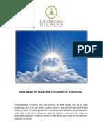 Diplomado de Sanación y Desarrollo Espiritual