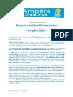 Bicentenaire Des Lois de Lelectrodynamique - Presentation