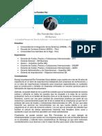Perfil Linkedin - Sesión Online Semana 11