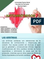 ANTIARRITMICOS PRESENTACIÓN.pptx