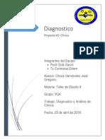Diagnostico y Analisis Clinica