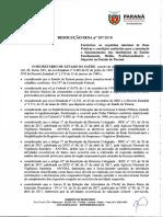 PARANA_Resolucao SESA 107.2018_Criterios Instituicoes Ensino
