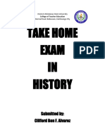 Take Home Exam