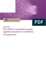 Bank of England Iso 20022 Consultation Paper