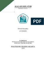 MakalahOsilator-MRizkiRamadhan