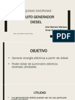 Circuito Generador Diesel
