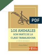 Hribal Jason - Los Animales Son Parte De La Clase Trabajadora.doc